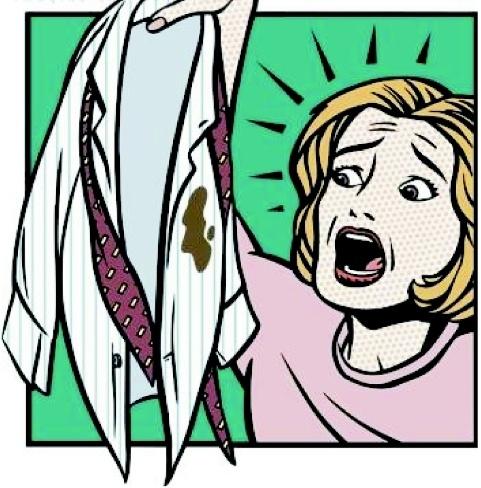 Comment nettoyer une tache d 39 encre - Tache de gras sur coton couleur ...